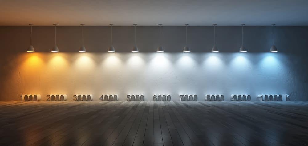 Unterschiedliche Lichtfarben © ohsuriya, stock.adobe.com