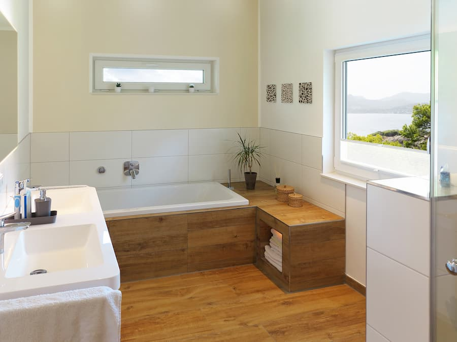 Holzboden Im Badezimmer Geht Das Macht Das Sinn