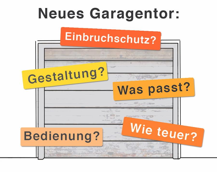 Neues Garagentor: Was muss beachtet werden