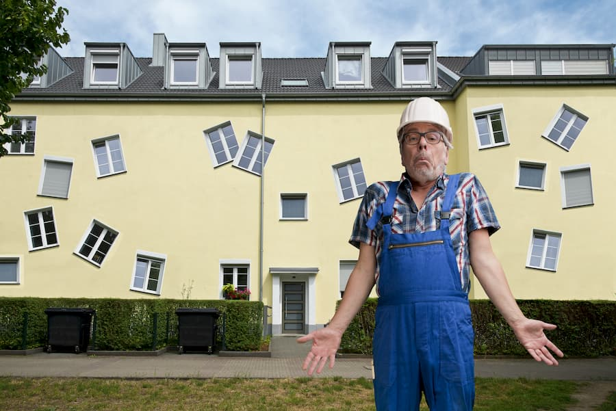 Pfusch am Bau © Tom Bayer, stock.adobe.com