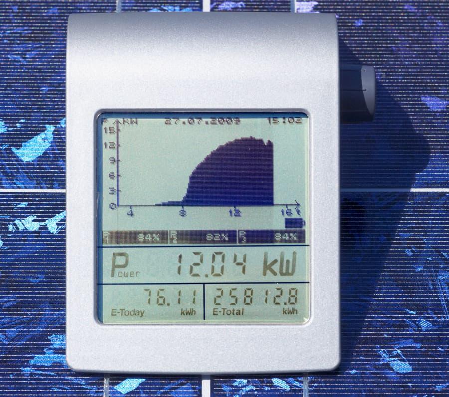 Photovoltaik Leistungsdaten © Ingo Bartussek, stock.adobe.com