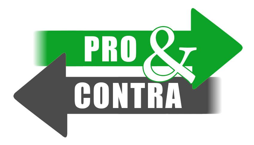 Pro und Contra richtig abwägen
