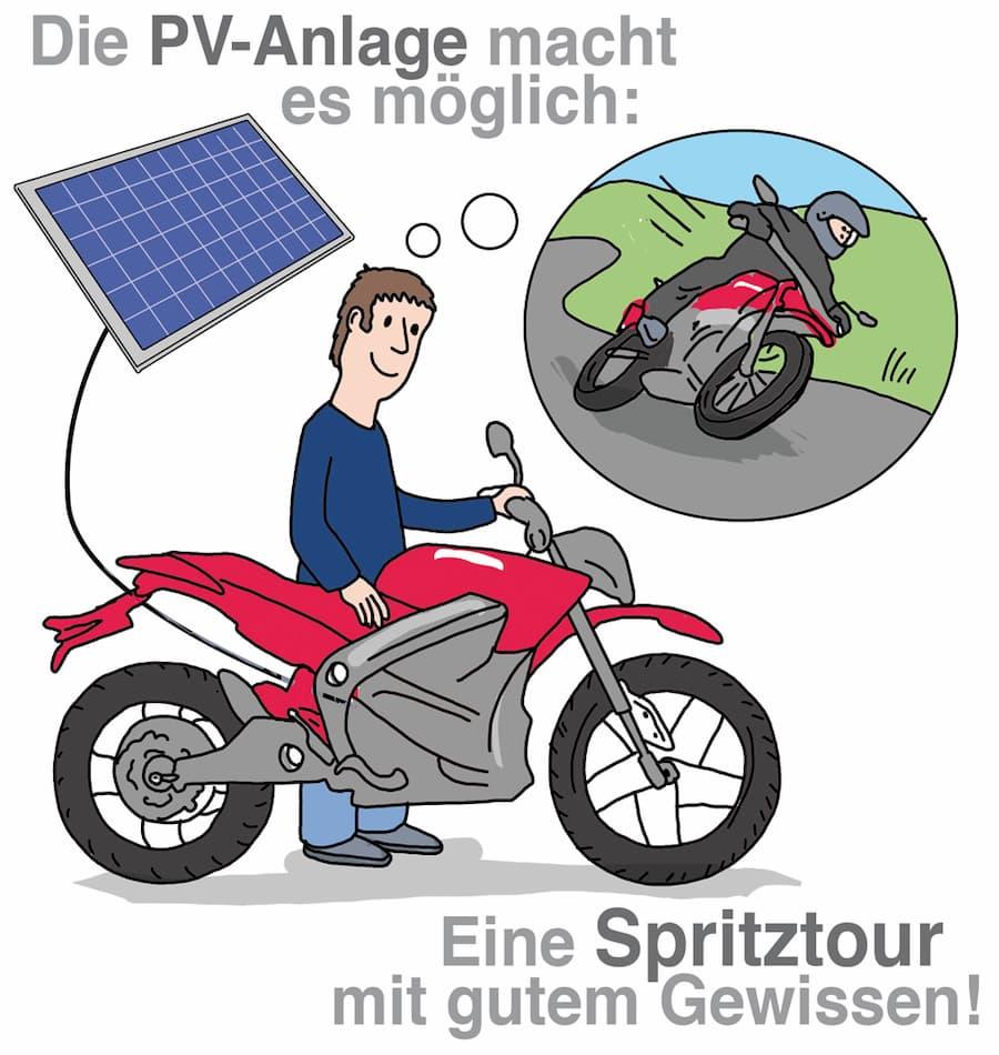 Emobilität: Dank Solarstrom umweltfreundlich