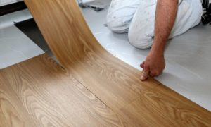 Vinylboden in Bad und Küche
