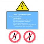Elekroinstallation Sicherheitsregeln