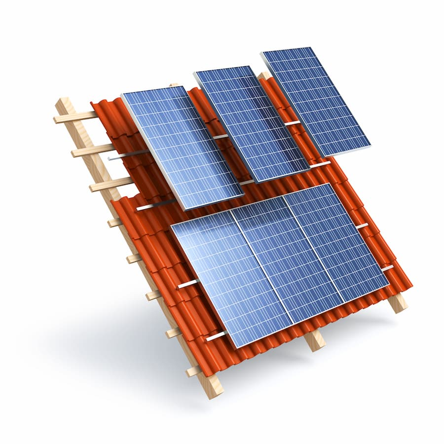 Solaranlagen auf Hausdach © electriceye, stock.adobe.com