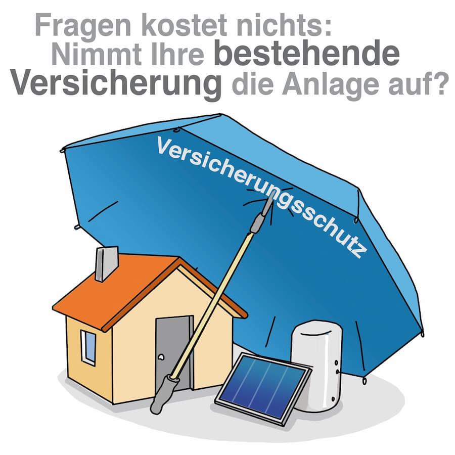 Solaranlage: Versicherung der Anlage sollte geprüft werden