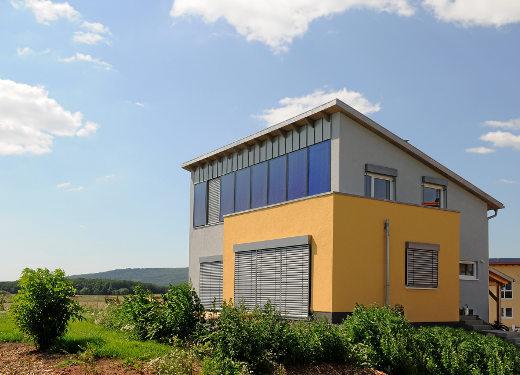 Solarthermie-Fassade © Wagner Solar