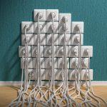 Wie viele Steckdosen verträgt ein Leitungsschutzschalter?