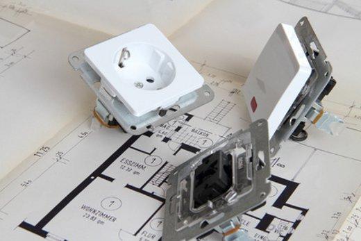 Elektroinstallation: Installationsmaterial