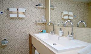 Tapeten fürs Bad