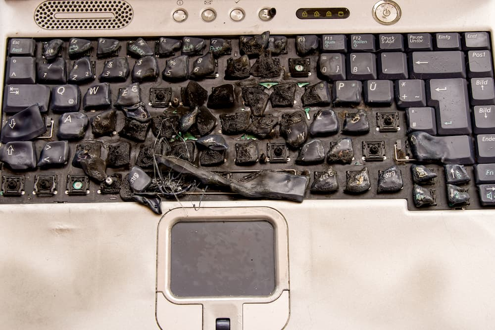 Kaputte Tastatur © Olena, stock.adobe.com
