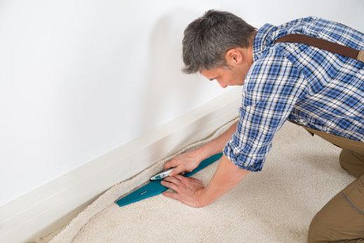 Dämmung Fußboden Unter Teppich ~ Teppichboden richtig verlegen so gehts