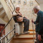 Treppenlift-Einbau im Mehrfamilienhaus