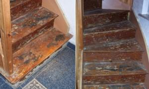 Treppenschäden