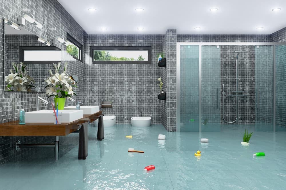 Überschwemmung im Badezimmer © marog-pixcells, stock.adobe.com