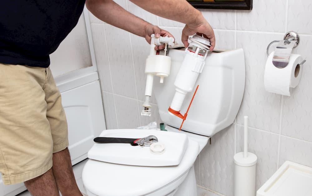 WC-Spühlkasten reparieren © anaimd, stock.adobe.com