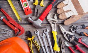 Werkzeuge und Hilfsmittel für den Umzug