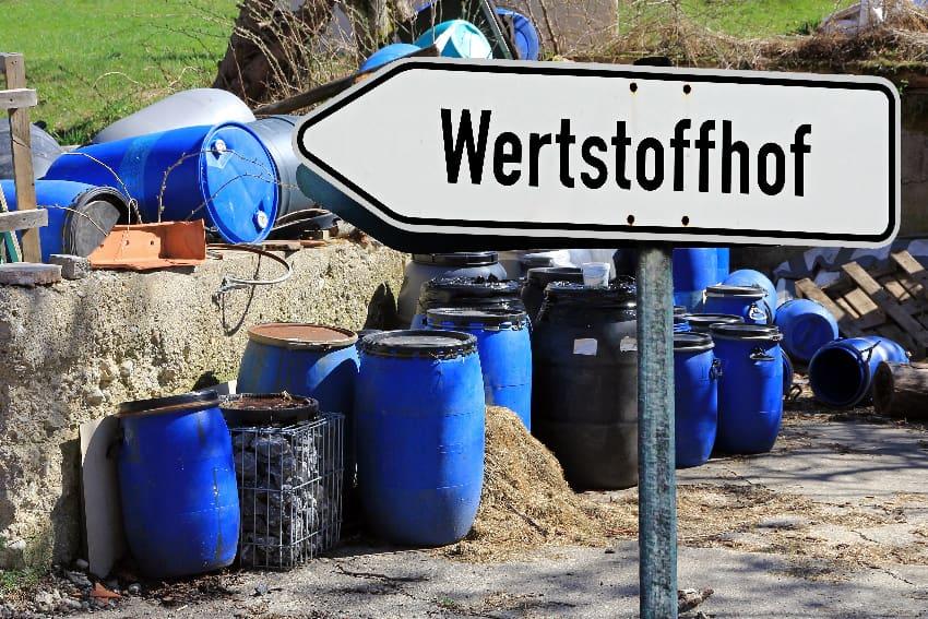 Wertstoffhof © Astrid Gast,stock.adobe.com