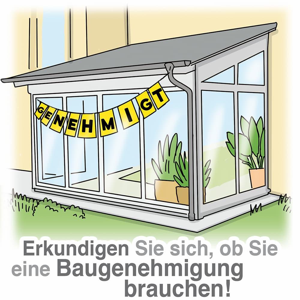 Wintergarten: Ist eine Baugenehmigung notwendig?