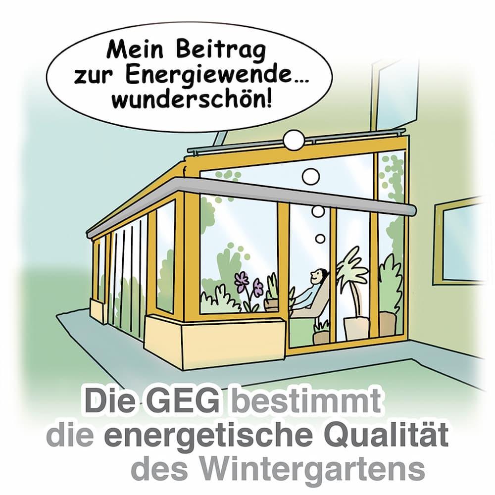 Wintergarten: Das GEG bestimmt die energetische Qualität des Wintergartens