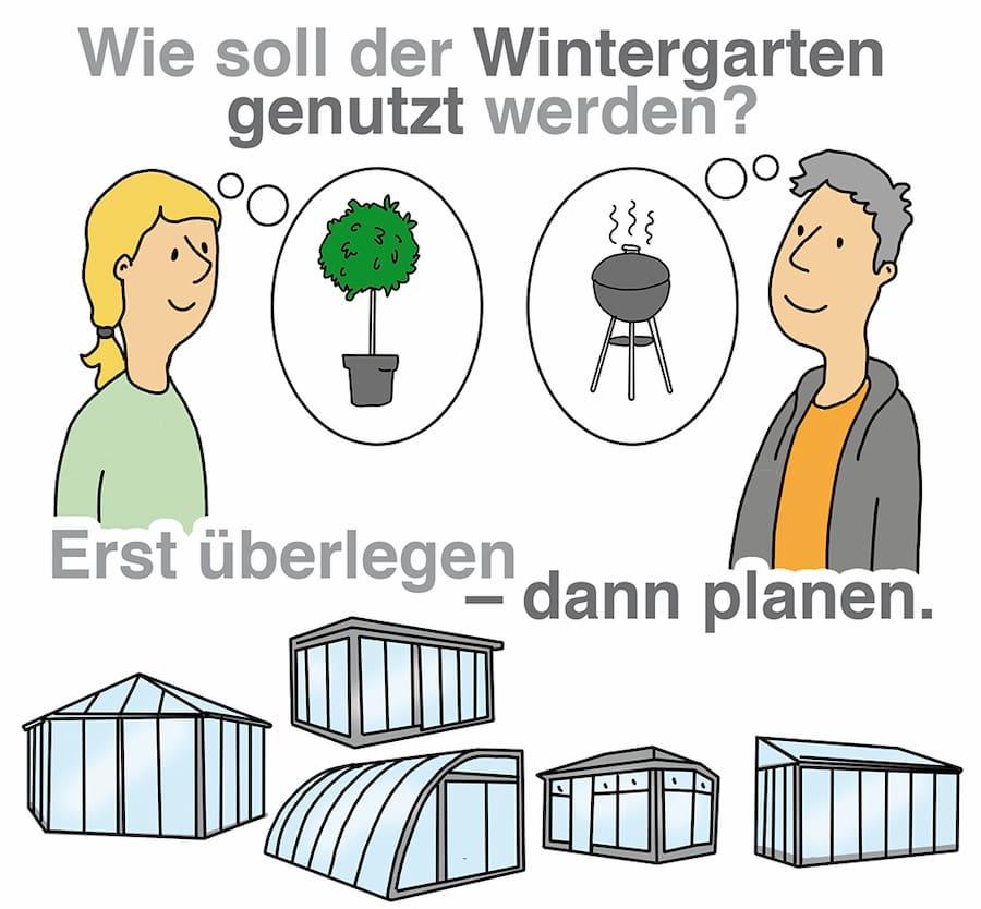 Wie soll der Wintergarten genutzt werden?