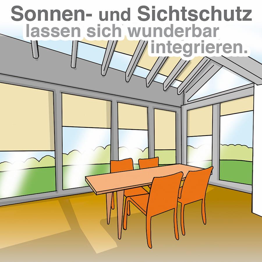 Wintergarten Lage Und Beschattung