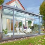 Wintergarten azus Glas © Weinor GmbH & Co. KG