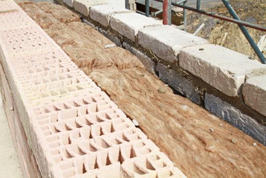 zweischaliges Mauerwerk mit Dämmung © Kara, fotolia.com